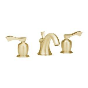 AMPHORA Widespread Faucet K105 - Satin Brass