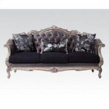 Ant. Platinum Sofa W/3 Pillows