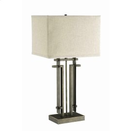 Contemporary Metal Table Lamp