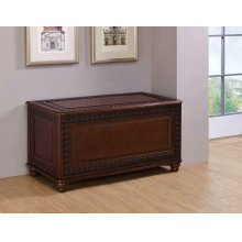 Traditional Deep Tobacco Cedar Chest