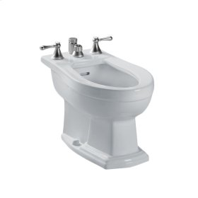 Clayton® Bidet, Vertical Spray - Colonial White