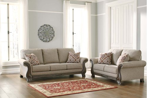 18003  Sofa and Loveseat - Claremorris Fog