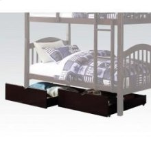 Espresso 2pc Drawers for 2554