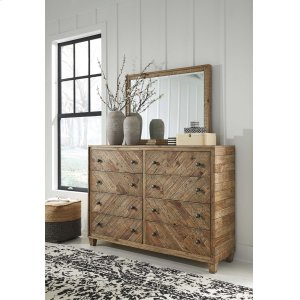 Ashley Furniture Grindleburg - Light Brown 2 Piece Bedroom Set
