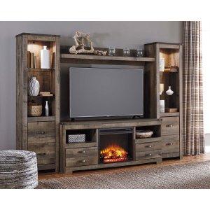 Ashley Furniture Trinell - Brown 5 Piece Entertainment Set