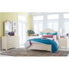 Summerset - Ivory Low Poster Bed, Queen 5/0