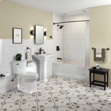 Town Square S Sink Top - Center Hole Only  American Standard - White