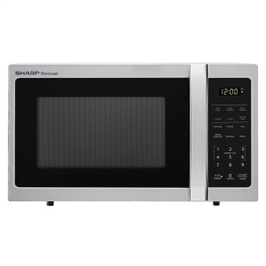 Sharp Appliances0.7 cu. ft. 700W Sharp Stainless Steel Carousel Countertop Microwave Oven