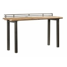 Counter Table - Reclaimed Elm Finish