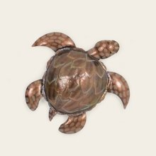 Small Metal Sea Turtle Wall Hanging