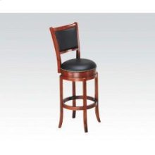 Oak Bar Chair W/swivel @n
