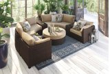 Spring Ridge - Beige/Brown 3 Piece Patio Set Product Image