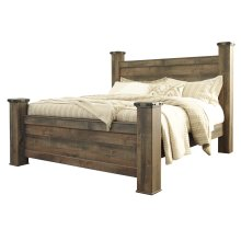 Trinell - Brown 4 Piece Bed Set (King)