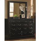 Drawer Dresser - Antique Black Finish Product Image