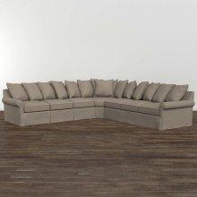 Designer Comfort Fairmont Large L-Shaped Sectional