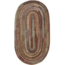 New Homestead Sundried Red Braided Rugs