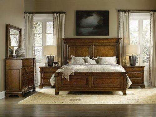 Bedroom Tynecastle California King Panel Bed