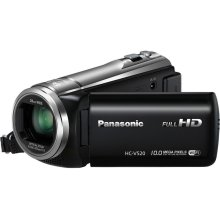 V520: Mobile Live Streaming Long Zoom HD Video Camcorder