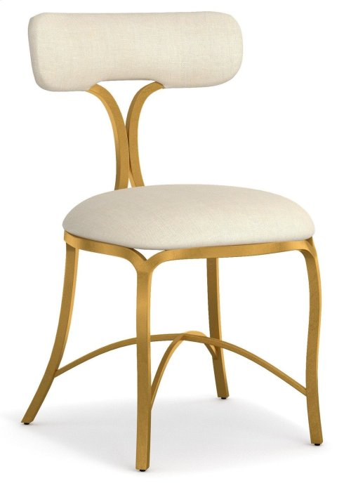 Dining Room Swanson Upholstered Metal Side Chair