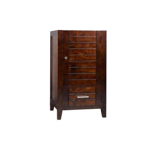 """Elise 18"""" Bathroom Vanity Base Cabinet in Vintage Walnut"""
