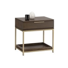 Rebel Nightstand - Brown
