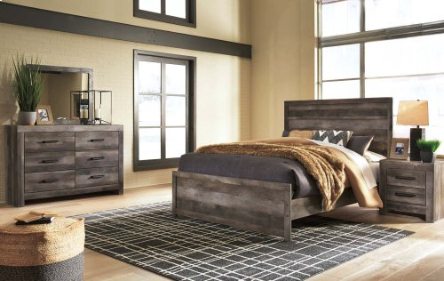 Wynnlow - Gray 2 Piece Bedroom Set