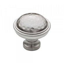 Artworth Knob 1 5/16 Inch Brushed Satin Nickel