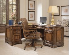 Home Office Brookhaven Executive L Right Return