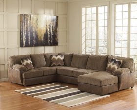 Cladio - Hickory 3 Piece Sectional