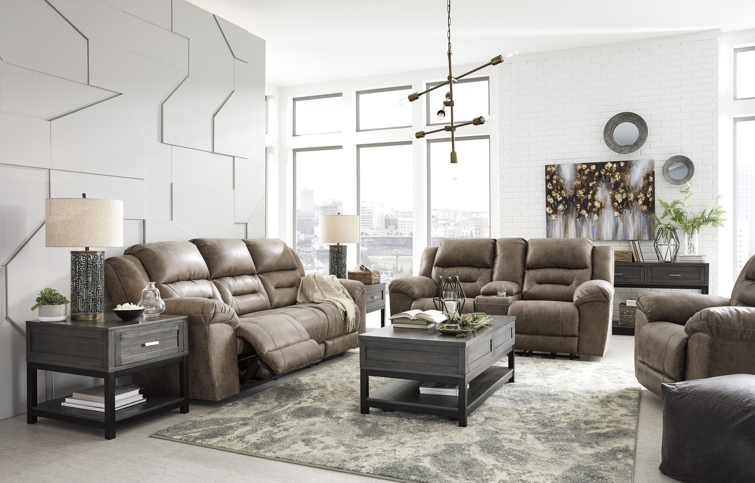 3990588 Ashley Furniture Reclining Sofa Sherman S