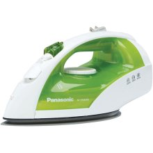 Steam/Dry Iron with Titanium, Non-Stick Coated Curved Soleplate