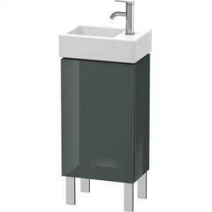 Vanity Unit Floorstanding, Dolomiti Gray High Gloss Lacquer