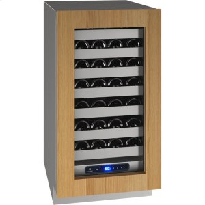 "U-Line5 Class 18"" Wine Captain(r) Model With Integrated Frame Finish and Field Reversible Door Swing (115 Volts / 60 Hz)"