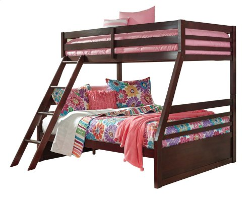 Halanton - Dark Brown 2 Piece Bed Set