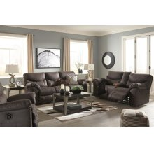 3380388 Grey Reclining Sofa and Loveseat (Boxberg Teak)