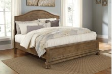 Trishley - Light Brown 3 Piece Bed Set (Cal King)
