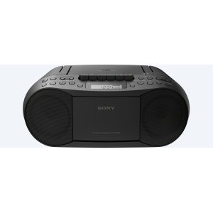 SonyCD/Cassette Boombox with Radio
