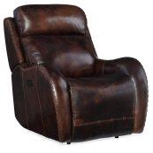Living Room Chambers Power Recliner w/ Power Headrest