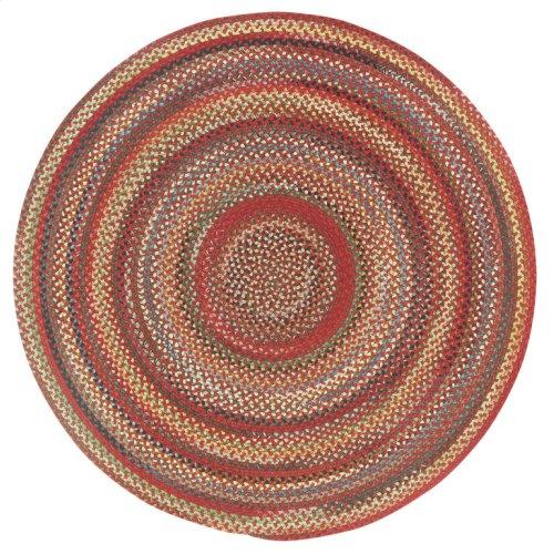 Americana Country Red Braided Rugs (Custom)