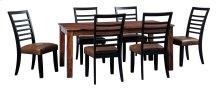 Manishore - Brown 5 Piece Dining Room Set