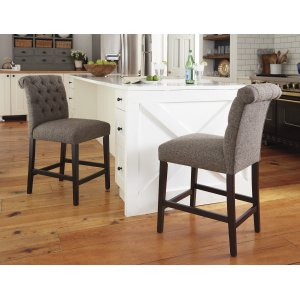 AshleySIGNATURE DESIGN BY ASHLEYTripton - Medium Brown Set Of 2 Dining Room Barstools