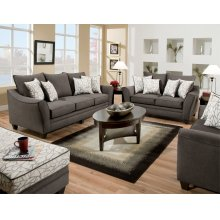 3853 CELICA Sofa in Flannel Seal - MFG # 3853-4040