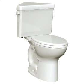 Cadet 3 Right Height Corner Toilet - 1.6 GPF - White