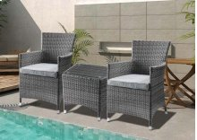Tashelle Patio Bistro Set