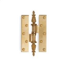 Antique Gold Louis Seize Paumelle Hinge