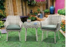 Tashay Patio Bistro Set