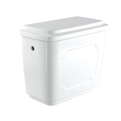 PERRIN & ROWE VICTORIAN CLOSE COUPLED WATER CLOSET TANK CISTERN ONLY WITH 1.28 GPF FLUSH MECHANISM