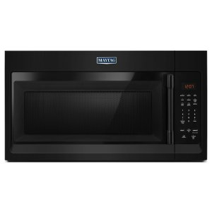 MaytagCompact Over-The-Range Microwave - 1.7 Cu. Ft. Black