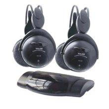 2 Infrared Headphones and IR Transmitter Combo