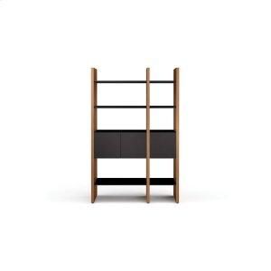 Bdi Furniture5402 Cb in Chocolate Stained Walnut Black